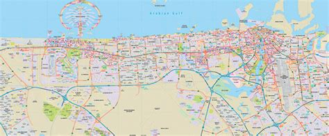 dubai geography map dubai map explorer publishing