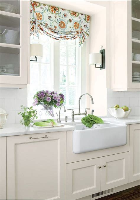 how to dress a window without curtains 8 ways to dress up the kitchen window without using a