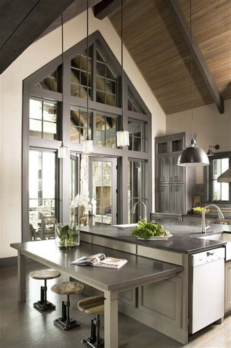 mountain home kitchen design the cliffs at mountain park residence rustic kitchen by mcdougald design