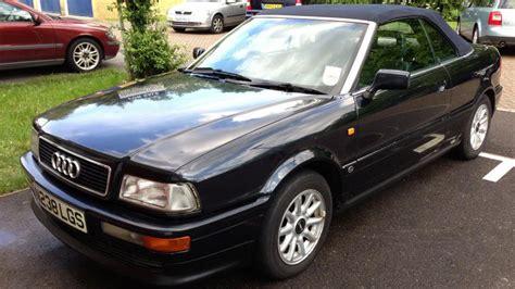 audi list audi cabriolet 1990 to 2000 187 definitive list cars