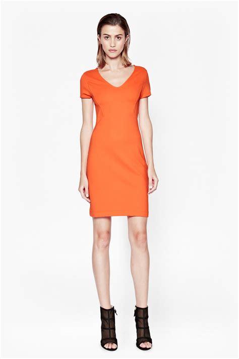 Dres V stretch v neck dress sale connection