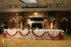 Hall Decoration Ideas by Reception Hallincluding Vasestable Drapes Chair Ties