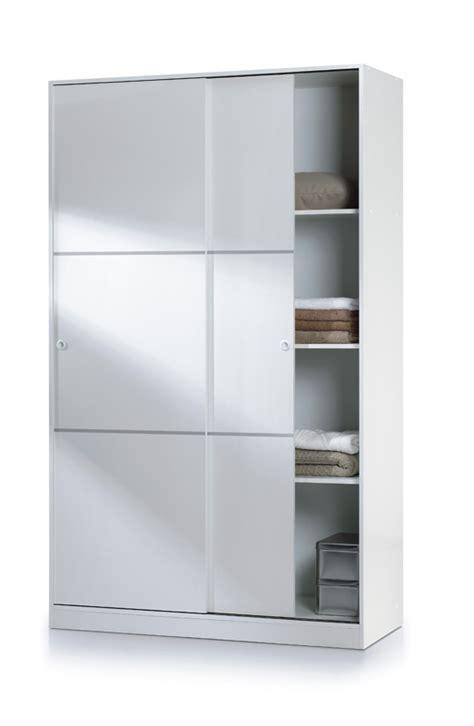 armario barato de  puertas correderas en color blanco