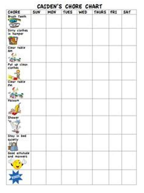 chore charts for 6 year olds yahoo image search results chore charts for 6 year olds yahoo image search results