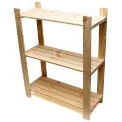 3 tier pine shelf unit pine shelves with 3 wooden
