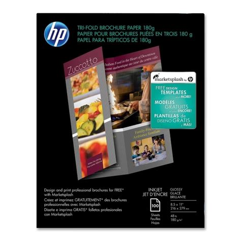 Tri Fold Brochure Paper Stock - valleyseek hewlett packard c7020a hp tri fold