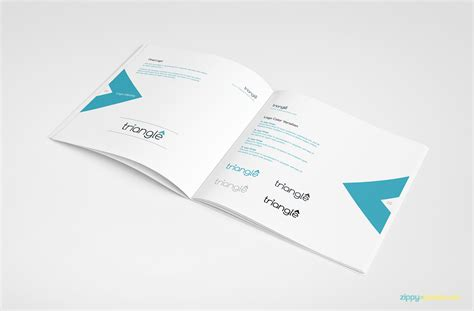 clean brand guidelines manual template brandbook