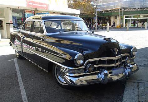 1952 cadillac parts 1952 cadillac sedan slick black caddy