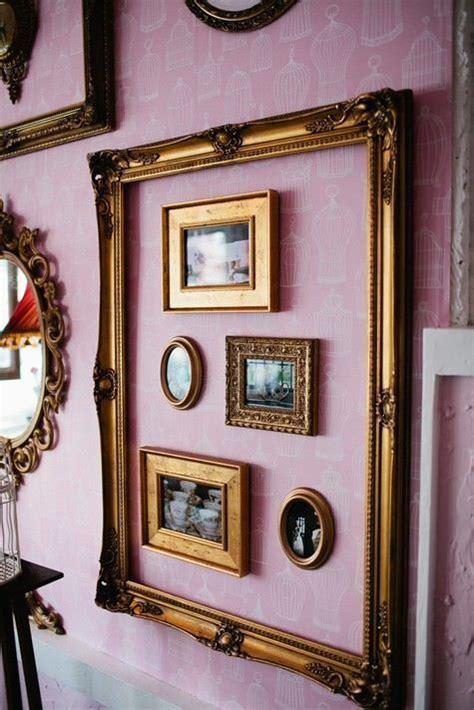 pareti con cornici decorare le pareti con cornici vintage ispirazione