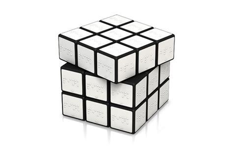 Rubik Infinity Cube Black Or White braille rubik s cube in black white 171 plenty of colour