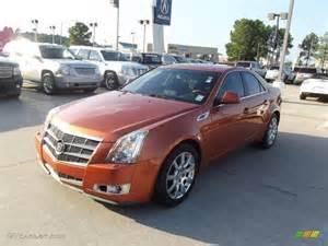 2008 Cadillac Cts Colors 2008 Lava Orange Cadillac Cts Lava Edition Sedan