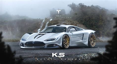 Auto Tesla by Update Tesla Model R Rendered As Ev Hypercar That Will