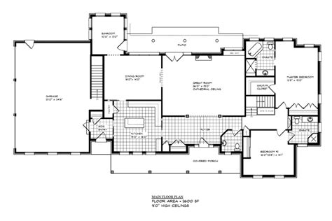 main level floor plans l13510 portfolio g curnock associates