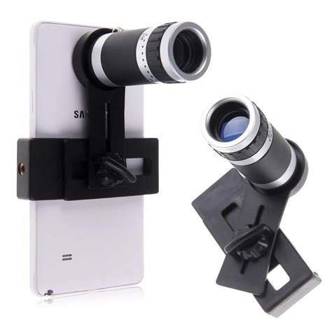 Iphone Zoom Lens by Universal 8x Optical Zoom Telescope Telephoto Lens Kit For Iphone Samsung Ebay