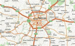 rennes map world of map