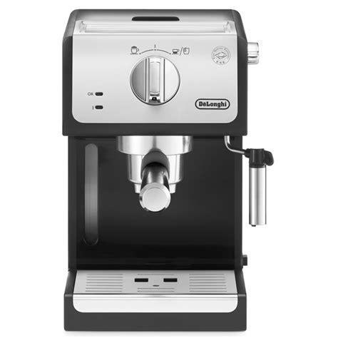 Delonghi Ecp31 21 Espresso Coffee Machine Black delonghi ecp33 21 traditional espresso coffee maker machine in black silver 8004399333109