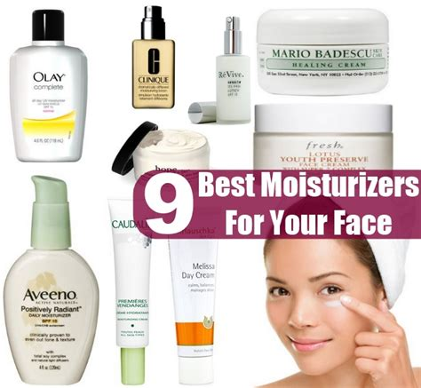 top ten oil moisturers for limp hair 9 best moisturizers for your face diy home things