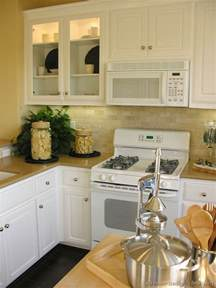 White Kitchen Cabinets White Appliances White Cabinets With White Appliances For Kitchen Decorations Home Constructions