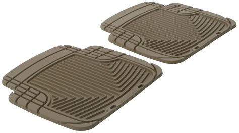2015 jeep patriot weathertech all weather rear floor mats tan