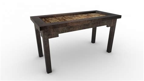 Ethnic Coffee Tables Free Coffee Table Ethnic 3d Model