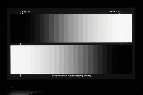 test pattern for monitor calibration grayscale test pattern patterns gallery