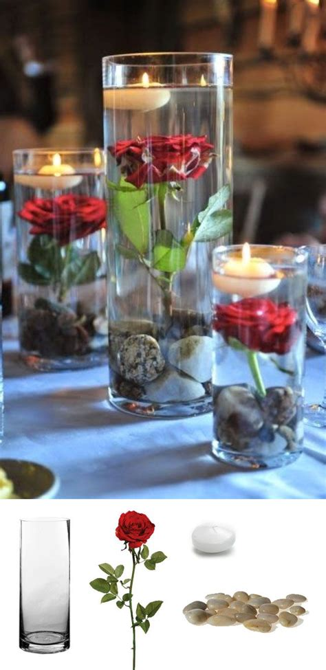 centerpieces with candles 1000 ideas about 50th birthday centerpieces on