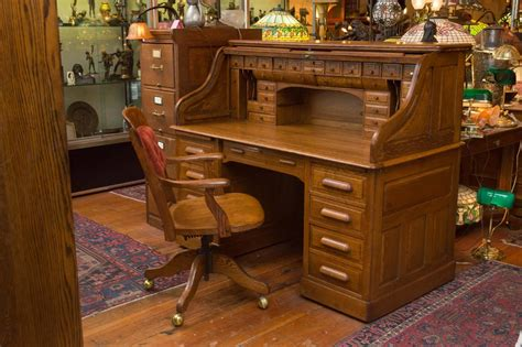 exceptional oversized s type oak roll top desk for sale at