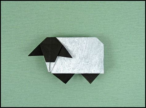 How To Make Paper Sheep - the 15 best images about origami sheep on