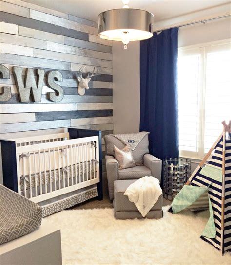 two tone furniture trend project nursery metallic wood wall nursery project nursery