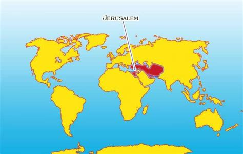 jerusalem in world map world map jerusalem jerusalem in world map israel