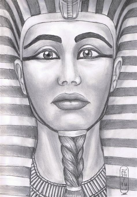 modern sketch of hatshepsut ancient egypt pinterest