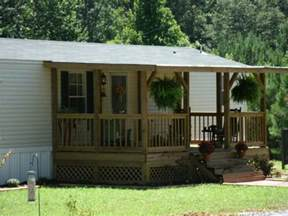 Mobile Home Yard Design Simple Front Porch Designs In Manufactured Home Porch Design