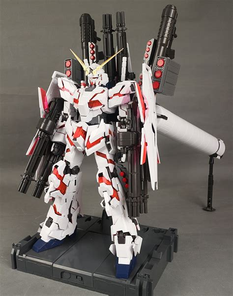 aliexpress buy daban armor unit weapons backpack for bandai 1 60 pg rx 0 unicorn