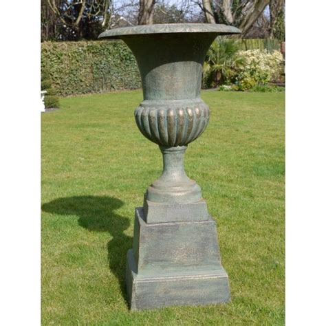 outdoor urn planters outdoor planter urn with base swanky interiors