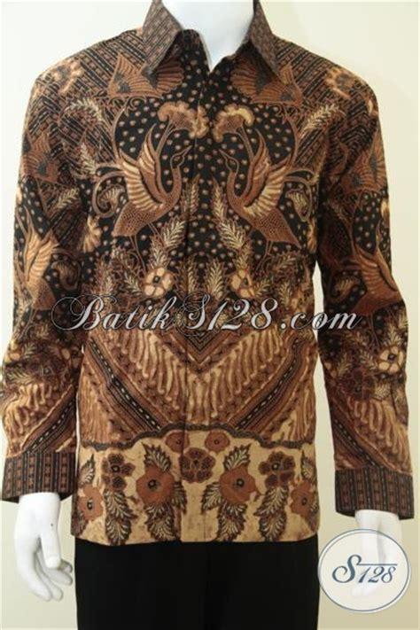 Baju Batik Pejabat Wanita baju batik pria motif burung warna klasik batik pejabat kelurahan kecamatan kabupaten