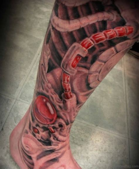 biomechanical tattoo designs legs 60 trendy biomechanical tattoos on leg