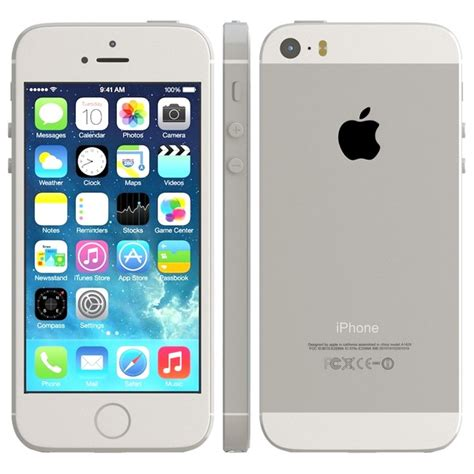 cricket iphone 5s apple iphone 5s 16gb for cricket wireless in silver excellent in box condition used cell