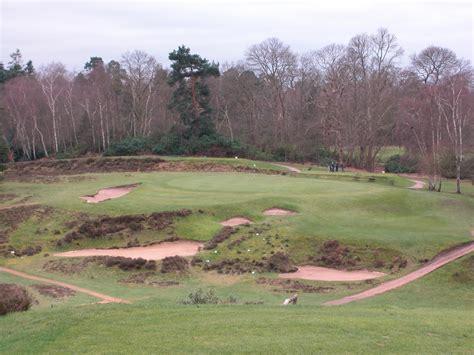 hill golf club st george s hill golf club weybridge