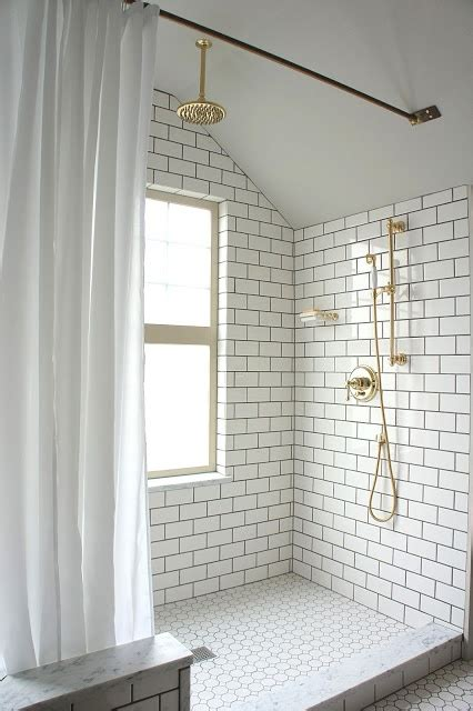 white bathroom tiles with black grout design trends white tile with dark grout heather zerah