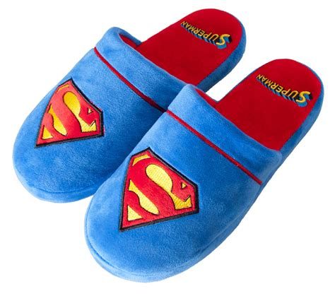 superman slippers for adults official superman slippers dc comics classic slip on
