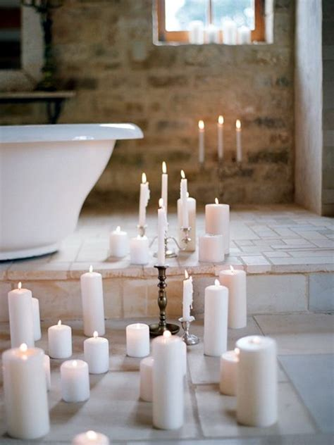 candles bathroom 40 ways to use candles in bathroom for special nights