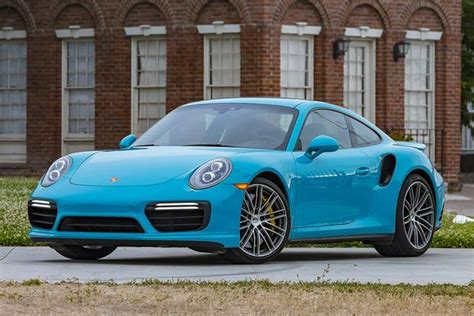 teal porsche 911 2017 porsche 911 turbo s a 40 year tradition that never