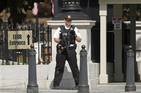 shooting at the white house officials white house security alert lifted everyone inside safe armed person shot