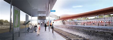 design contest for rail stations makeover arhitektuurib 252 roo pluss wins competition for railway
