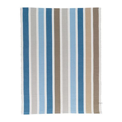 ikea throw rugs ikea emmie blue beige white stripes area throw rug mat