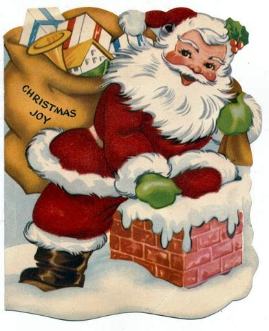 free christmas cards santa claus cards free clip art from vintage holiday crafts 187 christmas