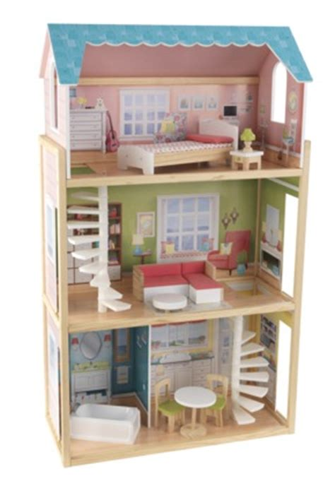 target wooden doll house target com play wonder wooden dollhouse with furniture 50 off 65 all things target
