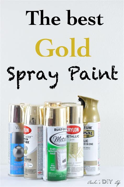 spray paint guide best 25 best gold spray paint ideas on
