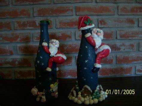 imagenes de navidad para decorar botellas m 225 s de 25 ideas incre 237 bles sobre botellas decoradas para
