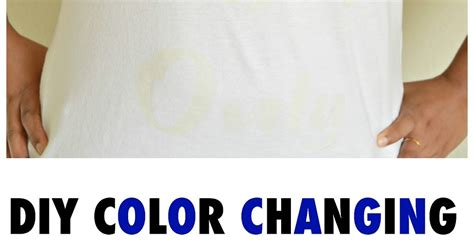 color changing shirts vikalpah diy color changing t shirts